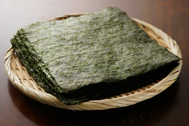 Japanese dried laver.